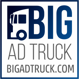 Bigadtruck Logo creative Blue